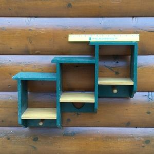 🏠• VTG Smaller Shelf Boho